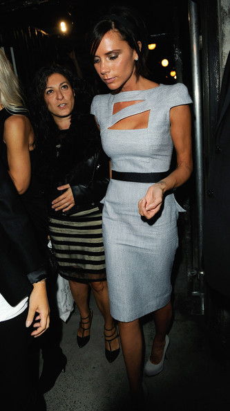 Victoria Beckham Victoria Beckham attends the Fashion East Fashion Show