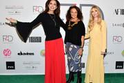 Claudia Edelman, Diane Von Furstenberg, and Fashion 4 Development Founder Evie Evangelou attend Fashion 4 Development's 8th Annual Official First Ladies Luncheon at The Pierre Hotel on September 25, 2018 in New York City.