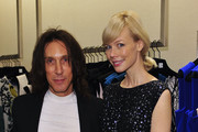 Stylist Edward Tricomi and designer Erin Fetherston at Saks Fifth Avenue on September 6, 2012 in New York City.