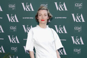 Camilla Rutherford attends the Fashioned From Nature VIP preview at The V&A on April 18, 2018 in London, England.