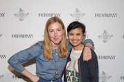 Christina Tosi, Chef and Founder of Milk Bar (L) and Stephanie Mehta, Editor-in-Chief, Fast Company attend the Fast Company Grill on March 09, 2019 in Austin, Texas.