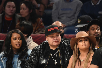 Fat Joe Celebrities Attend The 66th NBA All-Star Game