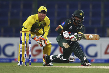 Fawad Alam Pakistan v Australia - ODI International