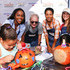Kelly McCreary Aja Naomi King Photos - Aja Naomi King, Jeff Perry, Kelly McCreary and Samantha Harris attend the Feeding America and the Los Angeles Regional Food Bank host a Holiday Harvest Volunteer Event At Shawn's Pumpkin Patch on October 24, 2015 in Culver City, California. - Feeding America and the Los Angeles Regional Food Bank Host Holiday Harvest Volunteer Event at Shawn's Pumpkin Patch