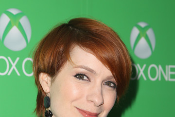 Felicia Day Celebs at the Xbox One Launch at Milk Studios