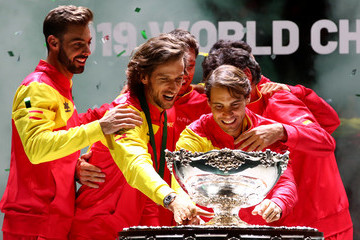 Feliciano Lopez Marcel Granollers 2019 Davis Cup - Day Six