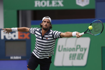 Feliciano Lopez 2017 ATP 1000 Shanghai Rolex Masters - Day 2