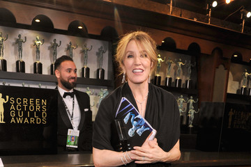 Felicity Huffman 24th Annual Screen Actors Guild Awards - Trophy Room