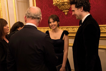 Felicity Jones The Prince of Wales' Invest in Futures Reception for the Prince's Trust