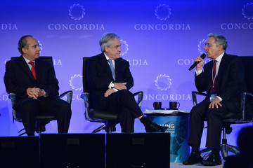 Felipe Calderon Concordia Summit: Day 1