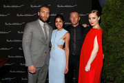 """Actors Jai Courtney, Sarah Roberts, Joel Edgerton and Melissa George arrive at the """"Felony"""" Cocktail Party during the 2013 Toronto International Film Festival held at Hudson Kitchen on September 10, 2013 in Toronto, Canada."""