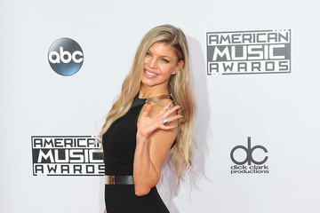 Fergie Arrivals at the American Music Awards — Part 2