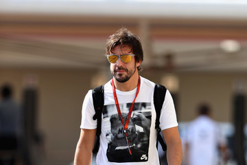 Fernando Alonso F1 Grand Prix of Abu Dhabi - Previews