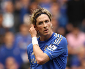 Fernando Torres Chelsea v Blackburn Rovers - Premier League