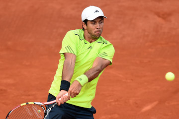 Fernando Verdasco 2014 French Open - Day Seven