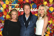 (L-R) Kathy Hilton, Rick Hilton and Nicky Hilton attend the Ferragamo Celebrates The Launch Of L'Icona Highlighting The 35th Anniversary Of Vara at The McKittrick Hotel, Home of Sleep No More on April 30, 2013 in New York City.