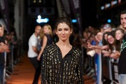 "Spanish actress Ursula Corbero attends ""Isabel"" 3th season premiere at the Principal Theater during the FesTVal 2014 day 1 on September 1, 2014 in Vitoria-Gasteiz, Spain."