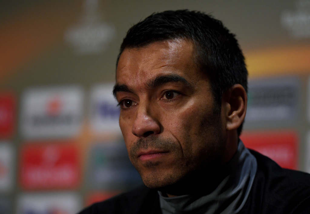 Giovanni Van Bronckhorst in Feyenoord Training Session and ...