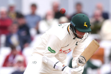 Fidel Edwards Nottinghamshire Vs. Hampshire - Specsavers County Championship: Division One