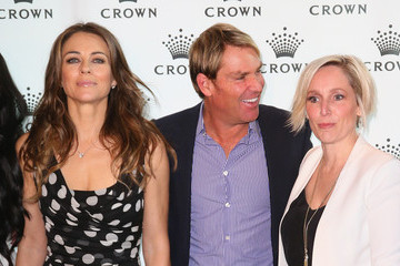 Fifi Box Arrivals at the Shane Warne Foundation Gala