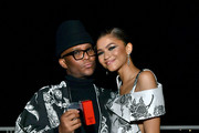 "(L-R) ""Fashion Stylist"" Honoree Law Roach and Zendaya attend the Fifth Annual InStyle Awards at The Getty Center on October 21, 2019 in Los Angeles, California."
