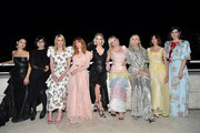 January Jones, Natasha Lyonne, Alexa Demie, Laura Mulleavy, Kate Mulleavy, Kirsten Dunst, InStyle Editor in Chief Laura Brown and Gia Coppola attend the Fifth Annual InStyle Awards at The Getty Center on October 21, 2019 in Los Angeles, California.