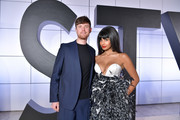 (L-R) James Blake and Jameela Jamil attend the Fifth Annual InStyle Awards at The Getty Center on October 21, 2019 in Los Angeles, California.