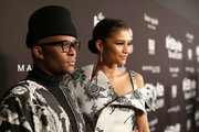 (L-R) Law Roach and Zendaya attend the Fifth Annual InStyle Awards at The Getty Center on October 21, 2019 in Los Angeles, California.