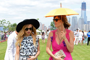 Stylist Rachel Zoe and Delfina Blaquier at the fifth annual Veuve Clicquot Polo Classic on June 2, 2012 in Jersey City.