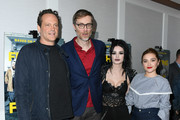 "Vince Vaughn, Stephen Merchant, Paige Bevis and Florence Pugh attend ""Fighting With My Family"" Los Angeles Tastemaker Screening at The London Hotel on February 20, 2019 in West Hollywood, California."
