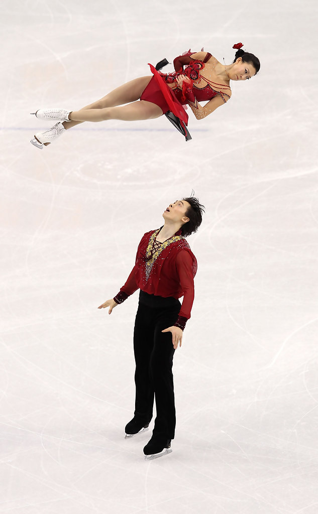 Qing Pang in Vancouver 2010 Winter Olympics at the UBC ...