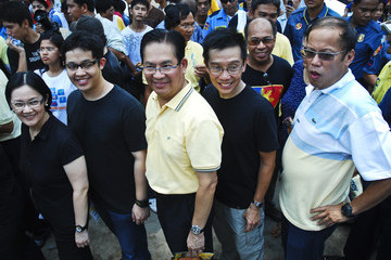 Benigno Noynoy Aquino Filipinos Go To The Polls To Elect 15th President Of The Philippines.