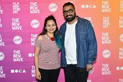 (L-R) Shazia Zahid Iqbal and Anurag Kashyap attend Anurag Kashyap In Conversation during Film Independent's The New Wave at Ahmanson Screening Room on October 20, 2019 in Los Angeles, California.