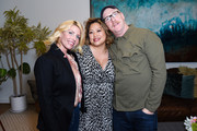 """Morgan Walsh, Filmmaker Kulap Vilaysack and Matt Walsh attend her party to celebrate her new documentary """"Origin Story"""" on May 10, 2019 in Los Angeles, California."""