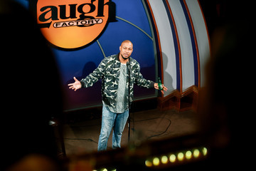 Finesse Mitchell The Laugh Factory Hosts Grand Reopening Night