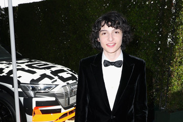 Finn Wolfhard Audi At The 70th Annual Emmy Awards
