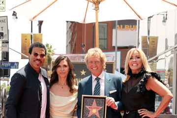 Finola Hughes Television Producer Nigel Lythgoe Honored With Star On The Hollywood Walk Of Fame
