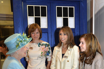 Fiona Bruce Arrivals at the Broadcasting House in London — Part 4