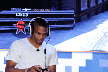 Russell Westbrook First-Ever Call Of Duty XP, Los Angeles - Day 1