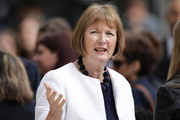 Labour MP Harriet Harman attends the official unveiling of a statue in honour of the first female Suffragette Millicent Fawcett in Parliament Square on April 24, 2018 in London, England. The statue of women's suffrage leader Millicent Fawcett is the first monument of a woman and the first designed by a woman, Turner Prize-winning artist Gillian Wearing OBE, to take a place in parliament Square.