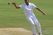 Imran Tahir of South Africa during day 1 of the 1st Sunfoil Test match between South Africa and Sri Lanka at Supersport Park on December 15, 2011 in Pretoria, South Africa