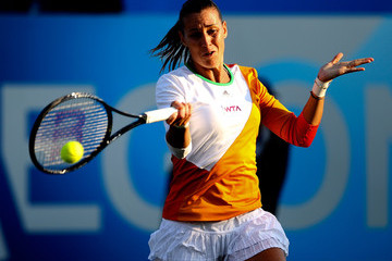 Flavia Pennetta Aegon International - Day Eight