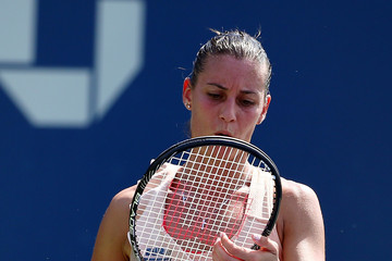 Flavia Pennetta US Open: Day 2