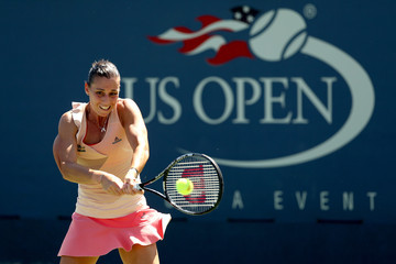 Flavia Pennetta US Open: Day 4