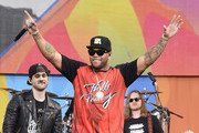 Flo Rida Performs During ABC's 'Good Morning America' 2016 Summer Concert Series