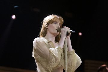 Florence Welch Florence And The Machine Perform At The Motorpoint Arena in Cardiff