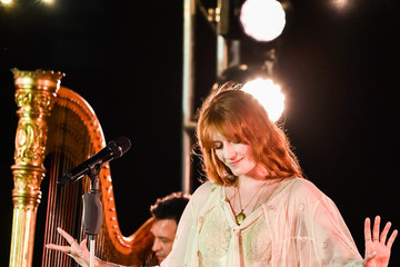Florence Welch Spotify Premium Hosts An Intimate Event With Florence + The Machine