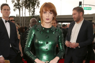 Florence and the Machine The 55th Annual GRAMMY Awards - Red Carpet