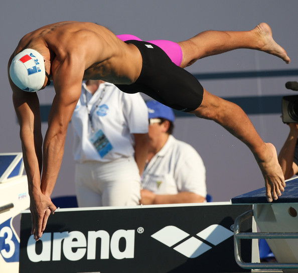 Florent Manaudou - International Settecolli Trophy - Day 3