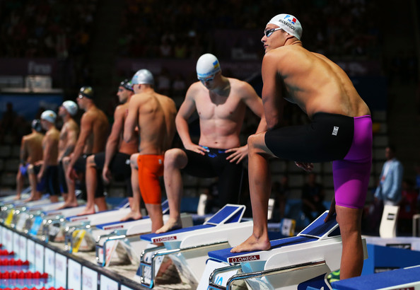 Florent Manaudou - Swimming - 15th FINA World Championships: Day Ten